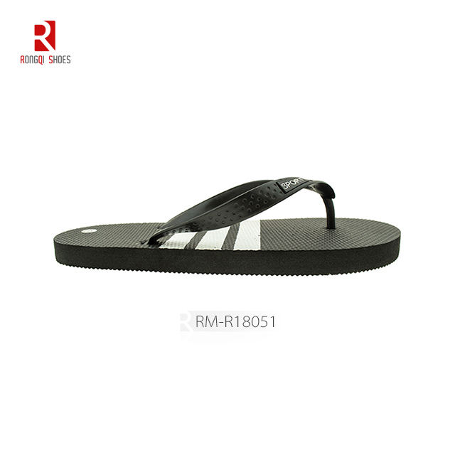 Cheap manufactory pe men's flip flop