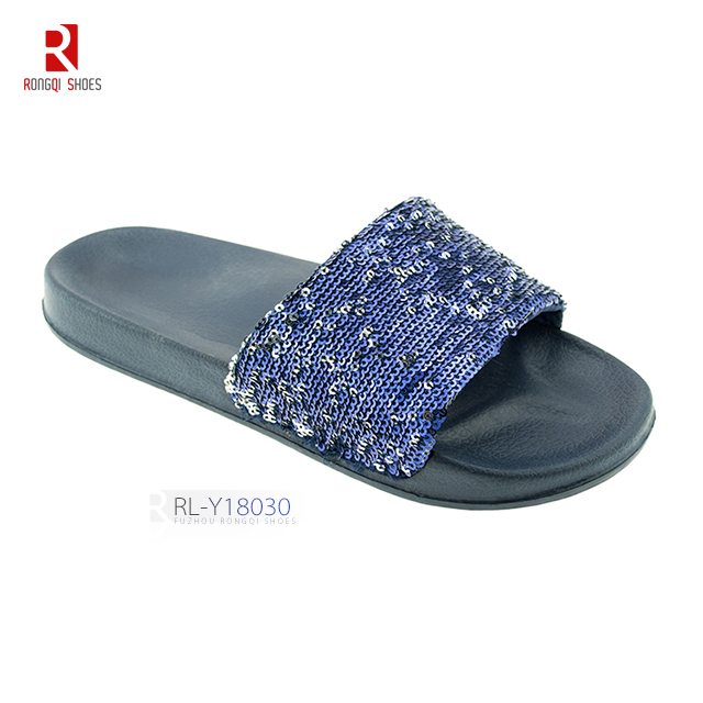Customer brand shoes EVA injection footwear slider slippers