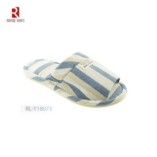 Wholesale fancy European style indoor unisex bedroom cotton slippers